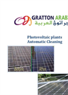 Photovoltaic Plants Automatic Cleaning Service Brochure