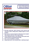 Custom Boat Covers Brochure