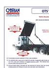 Model OTS - Autocover Rolloff & Hooklift Tarp Systems Brochure