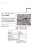 SC50HP Manual Hog Ring Tool Brochure