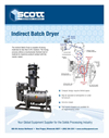 Model IDS - Dryer Indirect Batch Drying System Brochure