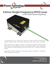 Symphony - Model 532-1000 - High Power Diode Pumped Solid State Laser System Datasheet