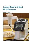 Model PM650 - Advanced Portable Seed Moisture and Grain Moisture Meter Brochure