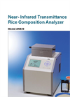 Model AN820 - Infrared Transmittance Rice Composition Analyzer - Brochure