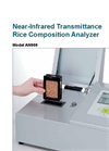 Model AN900 - Infrared Transmittance Rice Composition Analyzer Brochure