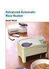 Model TR250 - Advanced Automatic Rice Husker Brochure