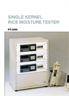 Model PT-2600 - Single Kernel Rice Moisture Tester Brochure