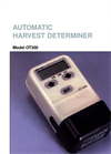 Model OT300 - Automatic Harvest Determiner Brochure