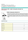 Acidity Test Apparatus, Automatic Zero Brochure