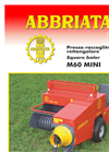 ABBRIATA - Model M60 MINI - Square Balers - Brochure