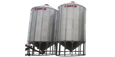 Twister  - Model 4 - Hopper Bottom Bin