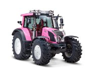 Pink Valtra tractor raises awareness of producer prices