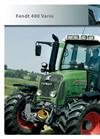 Fendt - 400 Vario - Tractor- Brochure