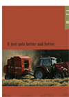 Hesston - Model 1700 Series - Economy Round Baler Brochure
