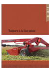 Hesston - Model 1300 Series - Disc Mower Conditioners Brochure