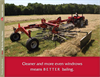 Hesston - Model RK Series - Rotary Rakes Brochure