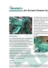Model SL-80 - Air/Screen Cleaning Machines Brochure
