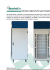 Agratechniek - Climate Cabinets for Germinations Tests - Brochure