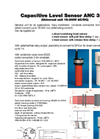 Capacitive Sensors Products Catalogue