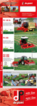 Model FR 140 SL - Green Forage Moving Harvesting Machine Brochure
