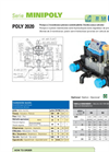 Model CP Series - Two Piston Semy-Hydraulic Diaphragm Pump Brochure