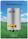 Model PDH-10 - Additive Pump  Brochure