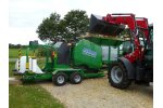 Agronic - Model MR820 & MR1210 - Maize Baler