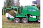 Agronic - Model MidiVario - Round Baler