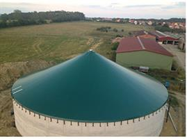 Agrotel - Membrane Roof Slurry Cover