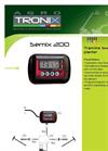 SEMIX - Model 200 - Tramline Box for Planter Brochure