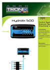 HYDROLIX - Version 500 - Control System Brochure