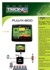 PULVIX - Model 8100 - Sprayer Flowrate Regulation System Brochure