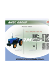Wheeled Tractor-AM184(4WD)/AM254 (WD)