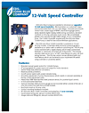 CDS-John Blue - Model 12-Volt - Speed Controller Datasheet