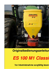 Model ES 100 M1 CLASSIC - Single Disc Spreader Brochure
