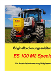 Model ES 100 M2 SPECIAL - Single-Disc Spreader Brochure