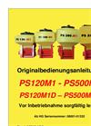 Model PS 120 M1 - Pneumatic Sowing Machines Brochure