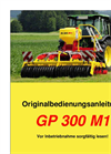 Model GP 300 M1 - Grassland Power Harrow Brochure
