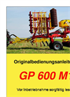 Model GP 600 M1 - Power Harrow Brochure