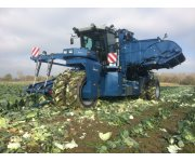 Self Propelled Cabbage Harvester
