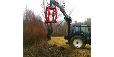 Naarva - Model P16 - Uprooter for Tractors and 5-8 Ton Excavators