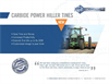 Atom-Jet - Power Hiller Tines - Brochure