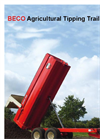 Agricultural Tipping Trailers - Brochure