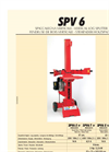 Semi-professional Vertical Log Splitters SPV6- Brochure