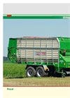 ROYAL - Model 28 S/30 K - Self Loading Wagon Brochure