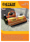 Model MINI 115 - Compact Mulching Machine Brochure
