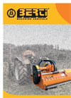 Berti - Model AF - Mulcher for Vineyard and Orchard Brochure