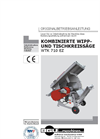 WTK 710 EZ - Circular Table Saw Brochure