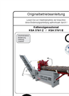 Model KSA 370/1 E - Chainsaw Firewood Processor Brochure