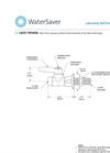 Model L4301-159WSA - Panel Mounted High Flow Water Valve Brochure